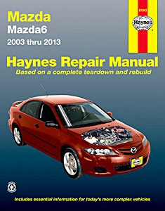 Boek: Mazda 6 (2003-2013) (USA) - Haynes Repair Manual