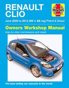 Renault Clio Iii 2005 2012 Werkplaatsboeken Onderhoud border=