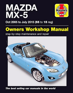 Boek: Mazda MX-5 (Oct 2005 - July 2015) - Haynes Service and Repair Manual
