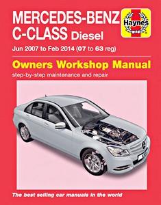 Wonderbaar Mercedes-Benz C (W204, 2007-2014) werkplaatsboeken - onderhoud en YO-82