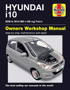 Boek: Hyundai i10 - 1.2 L Petrol (2008-2013) - Haynes Service and Repair Manual