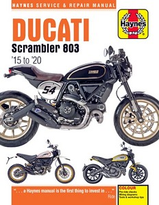 Livre : Ducati Scrambler 803 (2015-2020) - Haynes Service and Repair Manual