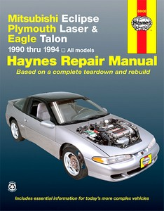 Boek: Mitsubishi Eclipse / Plymouth Laser / Eagle Talon (1990-1994) (USA) - Haynes Repair Manual