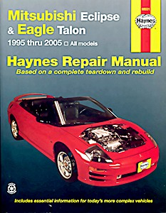 Boek: Mitsubishi Eclipse / Eagle Talon (1995-2005) (USA) - Haynes Repair Manual