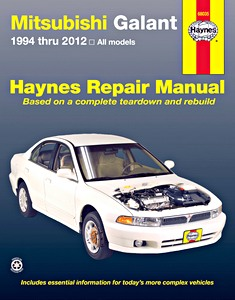 Boek: Mitsubishi Galant (1994-2012) (USA) - Haynes Repair Manual