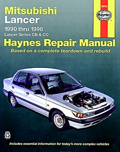 Boek: Mitsubishi Lancer - Series CB & CC (1990-1996) (USA) - Haynes Repair Manual