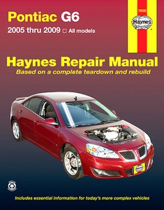 Boek: Pontiac G6 (2005-2009) - Haynes Repair Manual