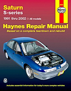 Livre : Saturn S-series - All models (1991-2002) (USA) - Haynes Repair Manual