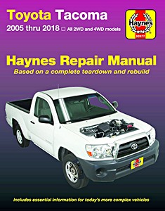 Livre : Toyota Tacoma - All 2WD and 4WD models (2005-2018) (USA) - Haynes Repair Manual