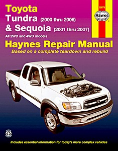 Livre : Toyota Tundra (2000-2006) & Sequoia - 2WD and 4WD (2001-2007) (USA) - Haynes Repair Manual