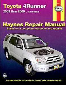 Livre : Toyota 4Runner (2003-2009) (USA) - Haynes Repair Manual