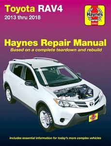 Livre : Toyota RAV4 (2013-2018) (USA) - Haynes Repair Manual