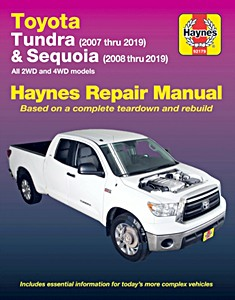 Livre : Toyota Tundra (2007-2019) & Sequoia (2008-2019) (USA) - Haynes Repair Manual