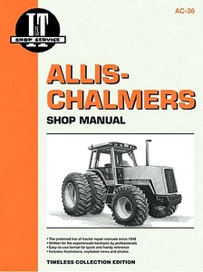 Boek: Allis-Chalmers Models 8010, 8030, 8050, 8070 (1981-1985) - Tractor Shop Manual