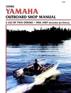 Spiksplinternieuw Yamaha 2-takt buitenboordmotoren (1984-2010): werkplaatsboeken WA-34