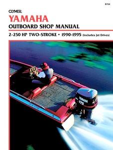 Wonderbaarlijk Yamaha 4-takt buitenboordmotoren (1985-2013): werkplaatsboeken LI-23