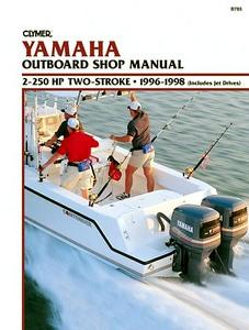 Hedendaags Yamaha 4-takt buitenboordmotoren (1985-2013): werkplaatsboeken CP-82