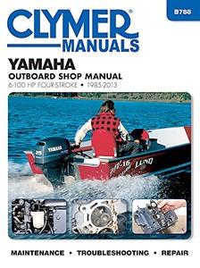 Spiksplinternieuw Yamaha 4-takt buitenboordmotoren (1985-2013): werkplaatsboeken FG-52