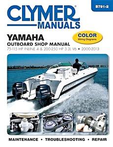 Wonderbaar Yamaha 4-takt buitenboordmotoren (1985-2013): werkplaatsboeken EV-96