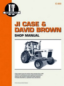 Boek: David Brown & JI Case 770-1175 / 885-1412 / 770-990 / 1270-1570 - Tractor Shop Manual
