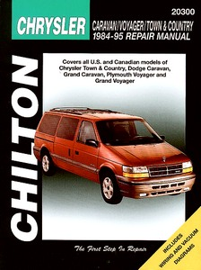 Boek: Chrysler / Dodge / Plymouth Caravan, Voyager, Town & Country (1984-1995) - Chilton Repair Manual