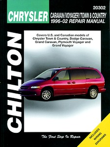 Boek: Chrysler / Dodge / Plymouth Caravan, Voyager, Town & Country (1996-2002) - Chilton Repair Manual