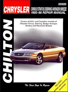 Boek: Chrysler Cirrus, Sebring / Dodge Stratus, Avenger / Plymouth Breeze (1995-1998) - Chilton Repair Manual