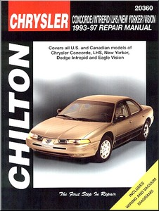 Boek: Chrysler Concorde, LHS, New Yorker / Dodge Intrepid / Eagle Vision (1993-1997) - Chilton Repair Manual