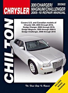 Boek: Chrysler 300 / Dodge Charger, Challenger, Magnum (2005-2018) - Chilton Repair Manual