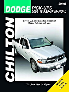 Livre : Dodge Pick-ups (2009-2012) - Chilton Repair Manual