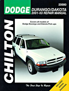 Livre : Dodge Durango (2001-2003) and Dakota (2001-2003) Pick-ups - Chilton Repair Manual