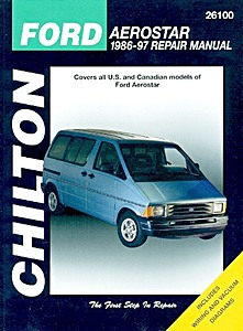 Boek: Ford Aerostar (1986-1997) - Chilton Repair Manual
