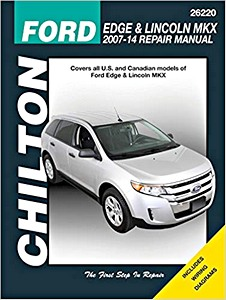 Livre : Ford Edge / Lincoln MKX (2007-2014) - Chilton Repair Manual