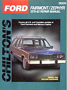 Boek: Mercury Zephyr / Ford Fairmont (1978-1983) - Chilton Repair Manual