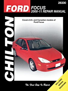 Boek: Ford Focus (2000-2011) (USA) - Chilton Repair Manual