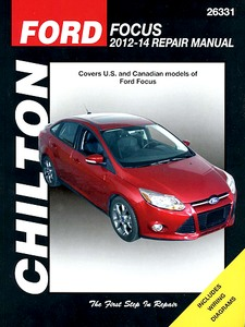 Boek: Ford Focus (2012-2014) - Chilton Repair Manual
