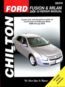 Boek: Mercury Milan / Ford Fusion (2006-2010) (USA) - Chilton Repair Manual