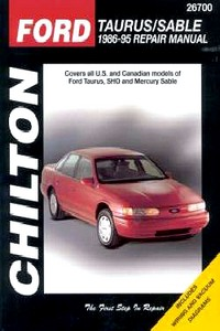 Boek: Mercury Sable / Ford Taurus (1986-1995) - Chilton Repair Manual