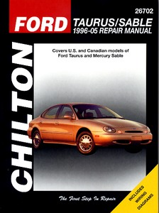 Boek: Mercury Sable / Ford Taurus (1996-2005) - Chilton Repair Manual