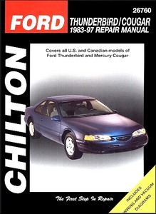 Boek: Mercury Cougar / Ford Thunderbird (1983-1997) - Chilton Repair Manual