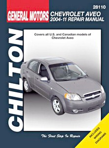 Boek: Chevrolet Aveo (2004-2011) (USA) - Chilton Repair Manual