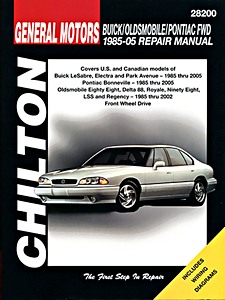 Boek: Buick / Oldsmobile / Pontiac FWD - H Body (1985-2005) - Chilton Repair Manual