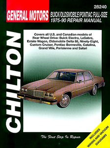 Boek: Buick / Oldsmobile / Pontiac - Full-size RWD (1975-1990) - Chilton Repair Manual