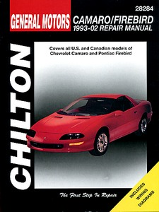 Boek: Chevrolet Camaro / Pontiac Firebird - All models - V6 and V8 engines (1993-2002) - Chilton Repair Manual