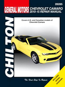 Boek: Chevrolet Camaro - All models (2010-2015) - Chilton Repair Manual