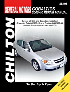 Boek: Chevrolet Cobalt (2005-2010 / Pontiac G5 (2007-2009) and Pursuit (2005-2006) - Chilton Repair Manual