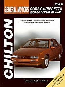 Boek: Chevrolet Corsica, Beretta - All models (1988-1996) - Chilton Repair Manual
