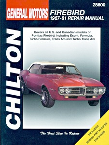 Boek: Pontiac Firebird (1967-1981) - Chilton Repair Manual