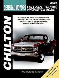 Livre : Chevrolet / GMC Full-size Trucks - gasoline and diesel engines (1970-1979) - Chilton Repair Manual