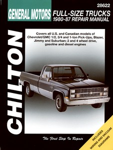 Livre : Chevrolet / GMC Full-size Trucks - gasoline and diesel engines (1980-1987) - Chilton Repair Manual